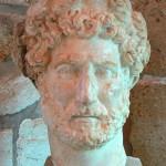 Roman emperor Hadrian, Archaeological Museum, Chania, Crete