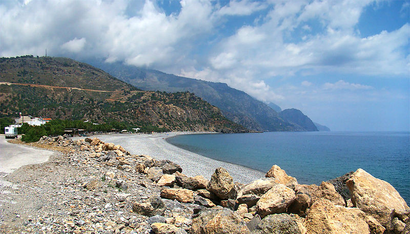 Sougia Beach, Southwest Crete
