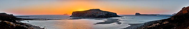 Beach of Balos and Gramvoussa, Northwestern Crete