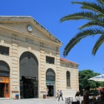 The central Market Square (Agora) in Chania, Crete