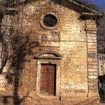 The church of St.Rocco in Splantzia, Chania, Crete
