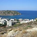 The island of Mochlos in Siteia region, Crete