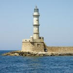 The lighthouse of Chania, Crete