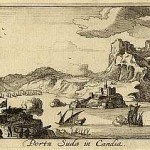 View of the Suda bay by Jan Peeters, 1690