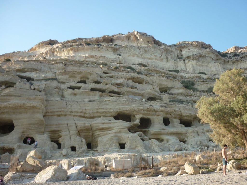Agia Galini caves, Rethymno region, Crete, Greece