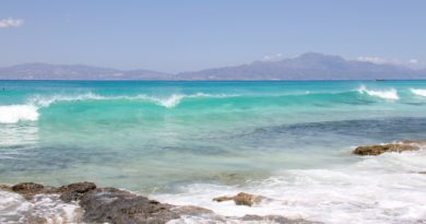 Chrissi Beach at the Libyan Sea, Crete, Greece