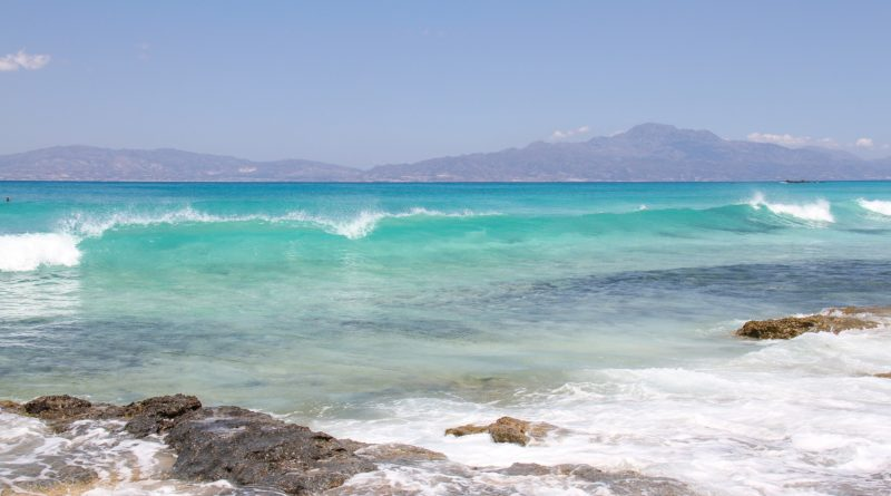 Chrissi Beach at the Libyan Sea, Crete, Greece