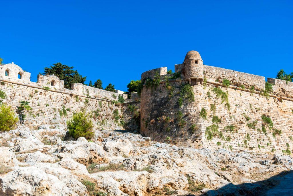 Venetian castle, Rethymno citadel, Crete, Greece