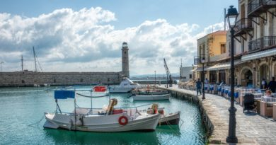 Travel to Rethymno, Crete - Rethymno Habor
