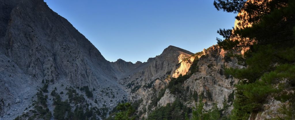 Travel to Crete, the Samaria Gorge
