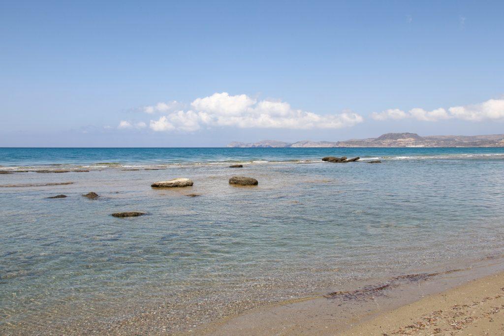 Travel to Vai Palm beach, Crete, Greece