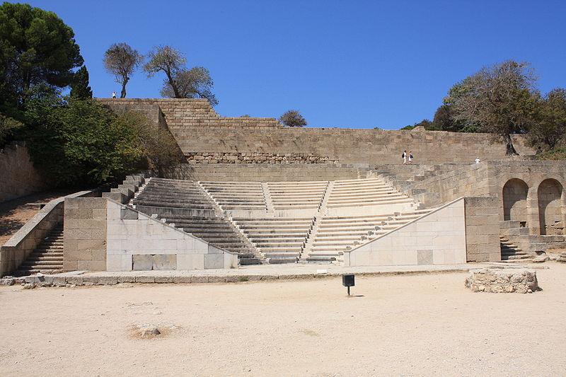 Acropolis of Rhodes Theatre