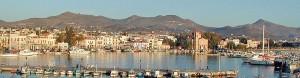 Aegina port, Saronic Gulf, Greece