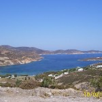 Agriolivadi bay, Patmos, Greece