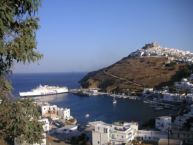 Astypalaia (harbour), Dodecanese, Greece