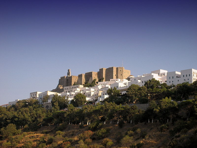 Monastery of St. John and Chora of Patmos, Dodecanese, Greece