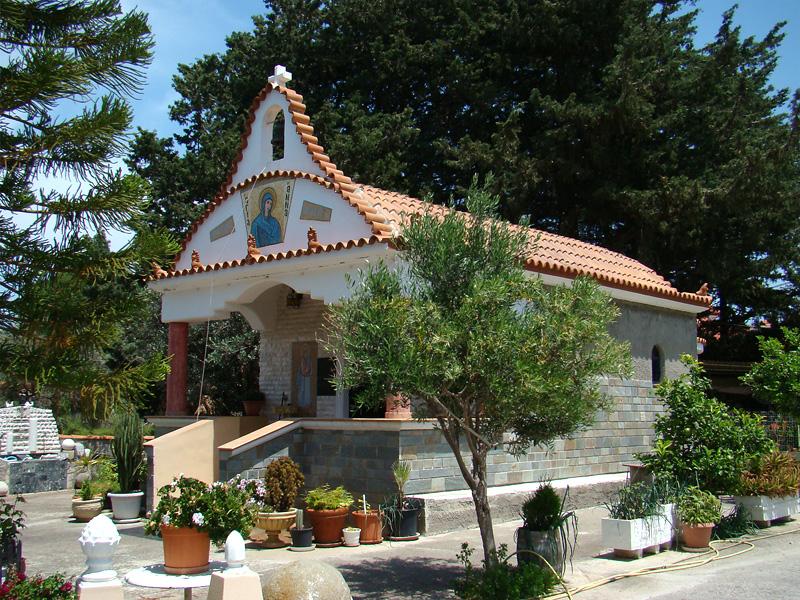 Church of Agia Anna in Maritsa, Rhodes island, Greece