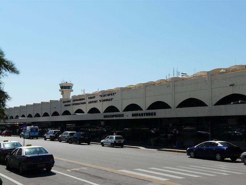 Аэропорт Родос Диагорас (Rhodes Diagoras International Airport).3