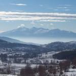 Mount Falakro in Drama, Macedonia, Greece