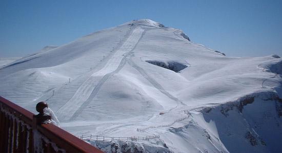 Falakro ski center, Drama, Macedonia, Greece
