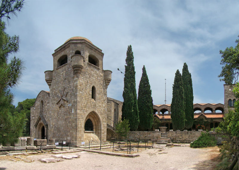 Filerimos Monastery, Ialysos, Rhodes island, Greece