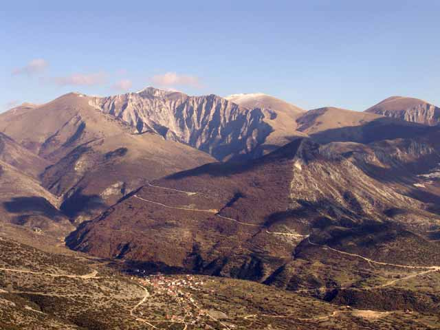 Gorge of Petrousa, Pirgi, Drama, Macedonia, Greece