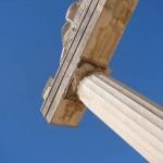 Greek columns, Kos island, Greece