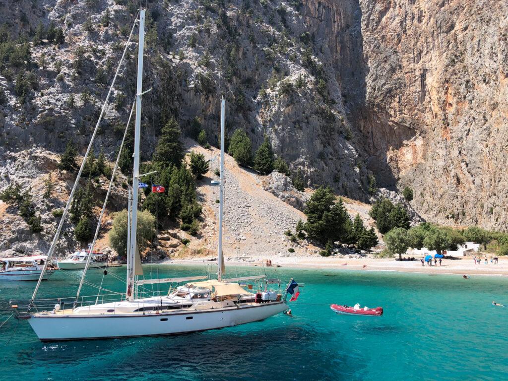 Travel to Symi Greece - St George Bay