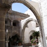 Inside the Monastery of St John, Patmos, Greece