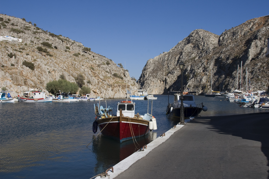 Rina, Kalymnos, Dodecanese, Greece - Photo by S. Lambadaridis