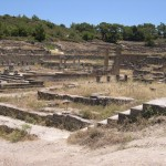 Kameiros, ancient city ruins, Rhodes island