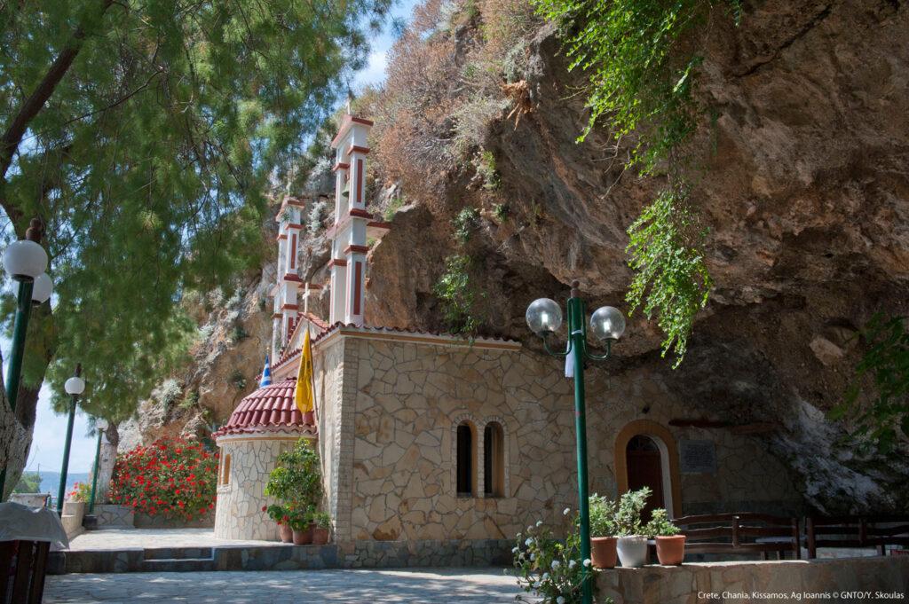 Agios Ioannis in Kissamos, Chania region, Crete Greece