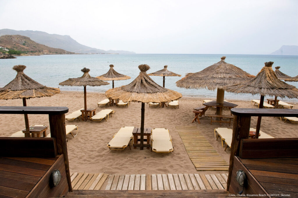 Kissamos Beach, Chania Crete Photo Y. Skoulas