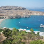 Lindos panorama, Rhodes island, Greece