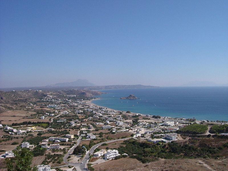 View from Kefalos, Kos island, Greece