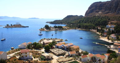 Mandraki bay - Kastelorizo - Photo by S. Lambadaridis