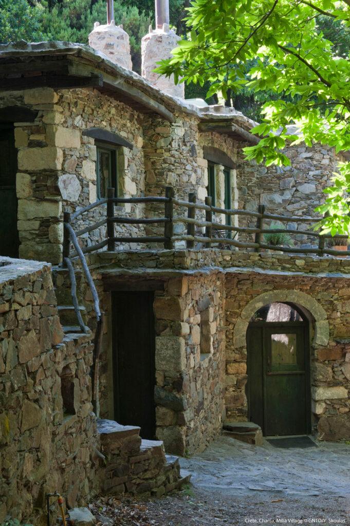 Milia village, Chania region Crete Photo Y. Skoulas