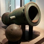 Mortar of the Knights of Saint John of Jerusalem (Knights Hospitaller), Rhodes, 1480–1500, fired 260 lb (118 kg) cannon balls.