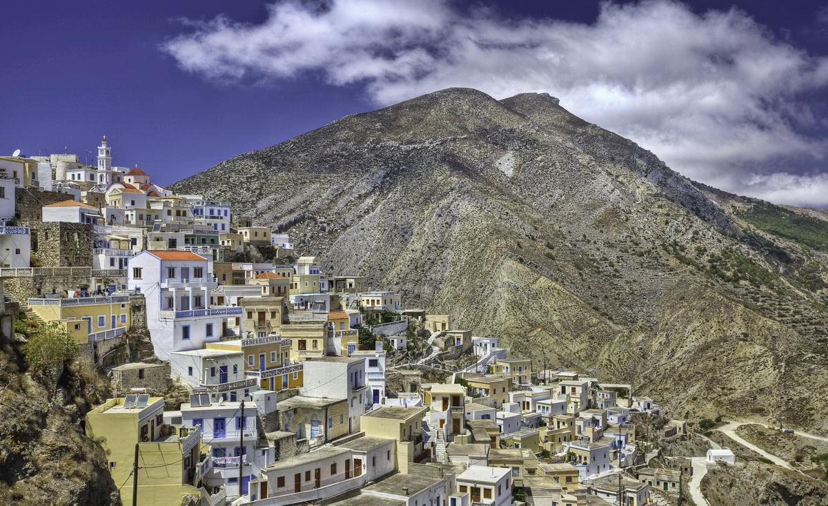 Olymbos, Karpathos - Photo: S. Lambadaridis