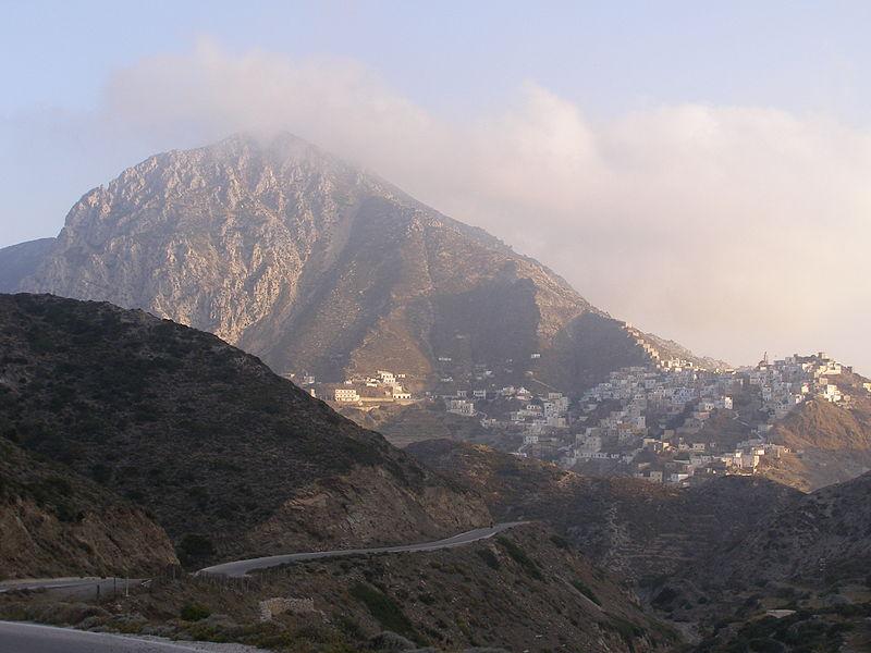 Olympos village, Karpathos, Dodecanese, Greece
