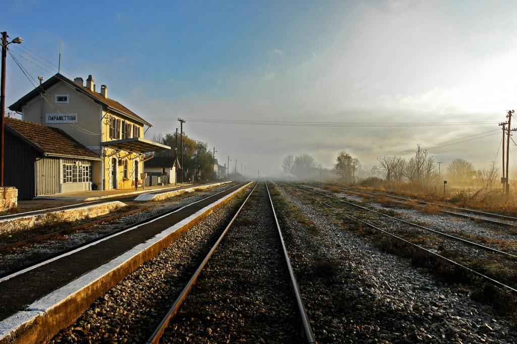 Paranesti Railway station, Drama Prefecture, Greece - Photo by Sotiris Lambadaridis