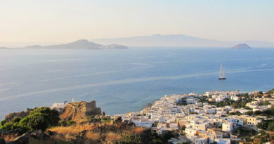 Panorama of Nisyros - Photo by S. Lambadaridis
