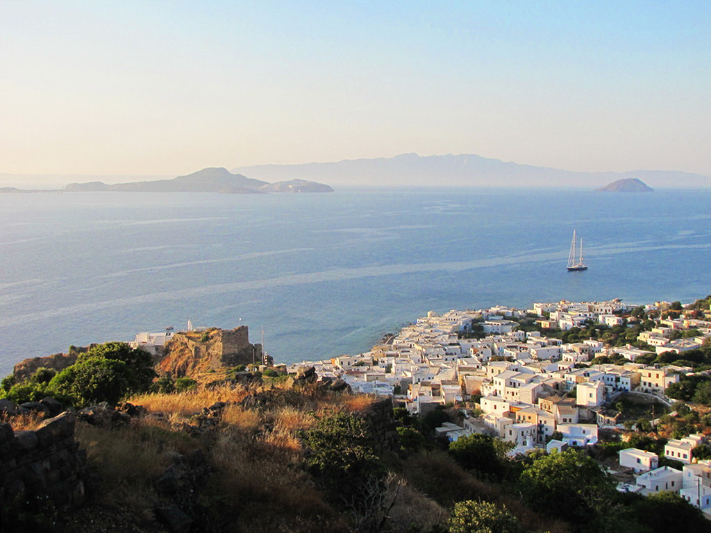Panorama of Nisyros - Photo by S. Lambadaridis