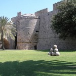 Rhodes Palace of the Grand Master, moat and wall