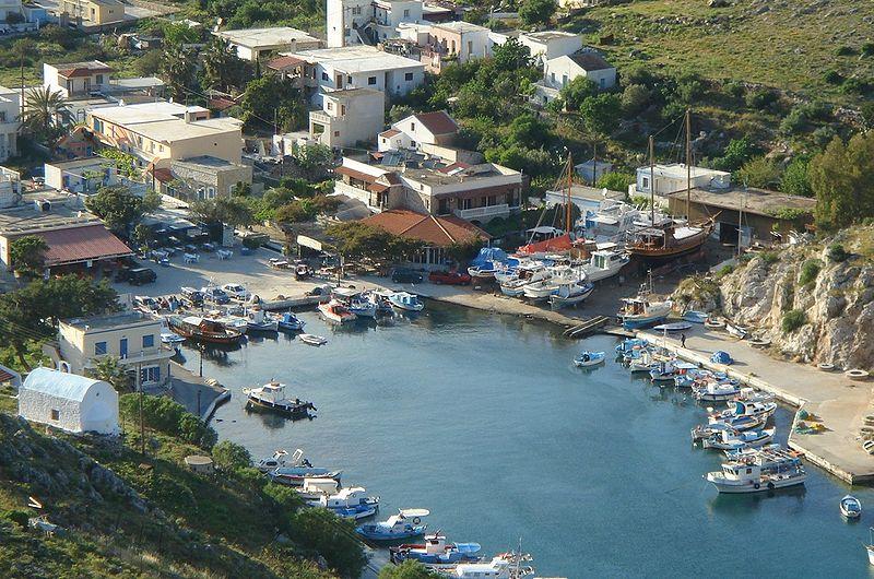 Rina - Vathys, Kalymnos, Dodecanese, Greece