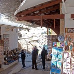 Souvenir shops in Lindos, Rhodes island, Greece