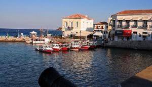 Spetses island, Argolic Gulf, Greece