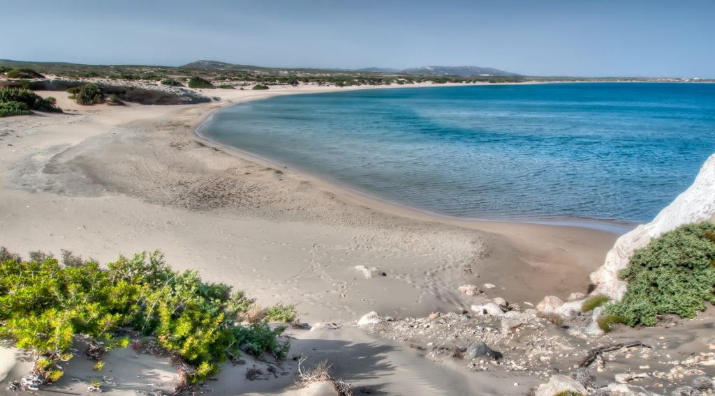 St George Beach, Rhodos island, Greece, photo by Sotiris Lambadaridis
