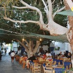 Street in Mandraki, Nisyros, Dodecanese, Greece