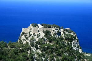 The castle of Monolithos, Rhodes island, Greece